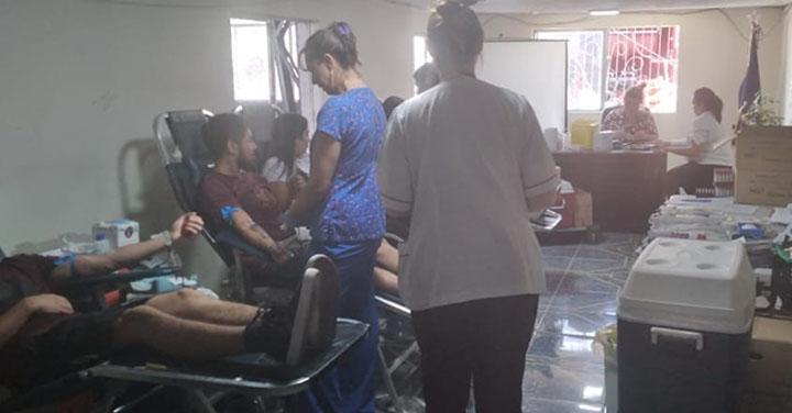 Bomberos de El Monte realizó campaña para donación de sangre