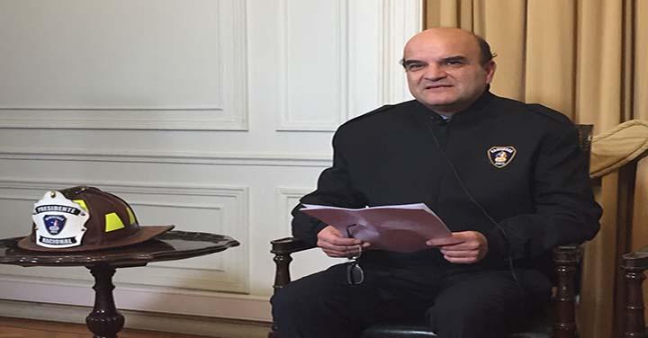 Electa nueva mesa Directiva Nacional de Bomberos de Chile 2018-2020