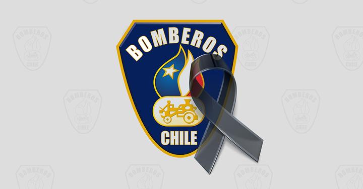 Pesar por fallecimiento de Voluntario Insigne del Cuerpo de Bomberos de Coronel