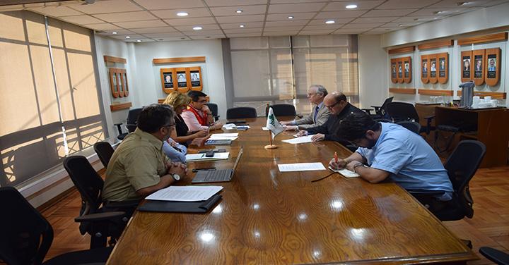 Reunión de Coordinación entre Bomberos de Chile y Conaf