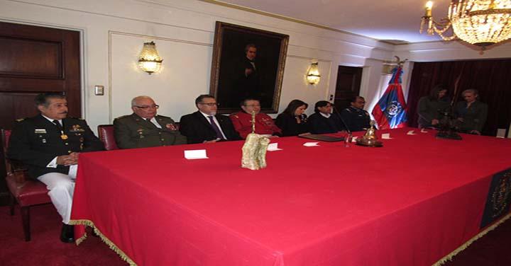 Sesión Solemne 167º Aniversario del Cuerpo de Bomberos de Valparaíso