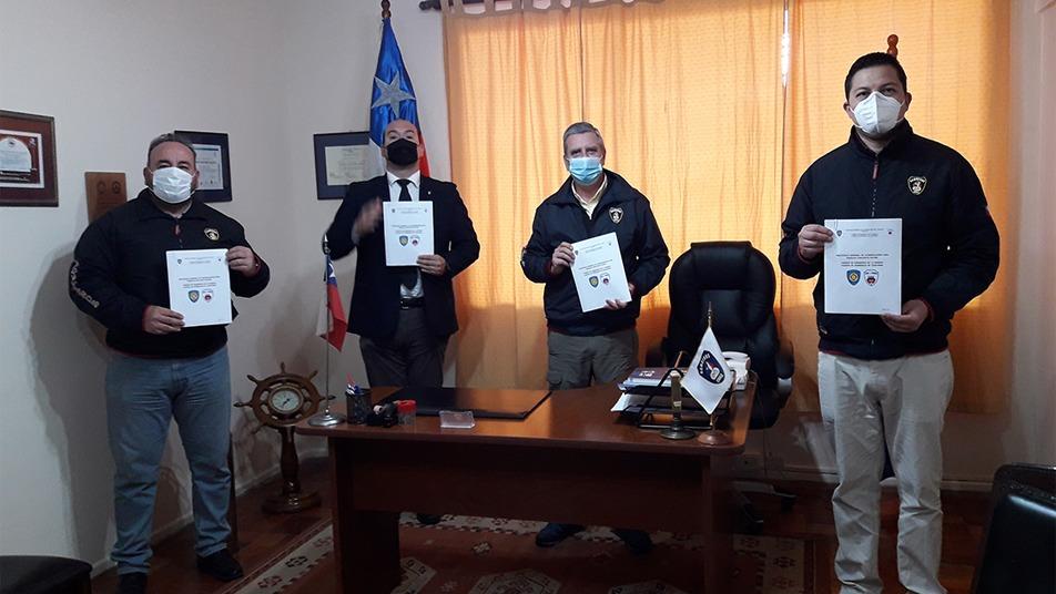 """CB de La Serena y Coquimbo firman """"Protocolo General de Coordinación para Trabajo Conjunto"""""""
