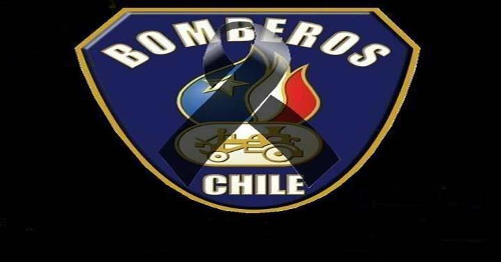 Pesar en el Cuerpo de Bomberos de Valparaíso