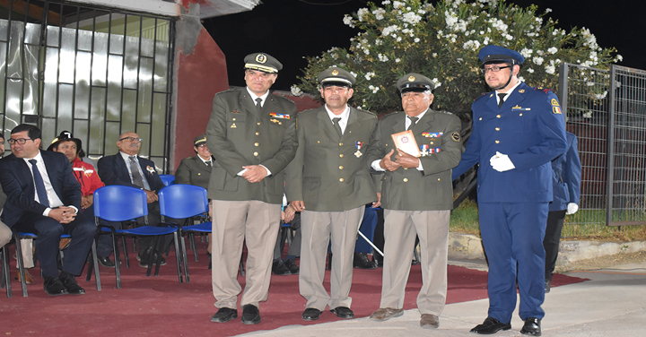 Presidente Nacional participó en el aniversario 50 del Cuerpo de Bomberos de El Palqui