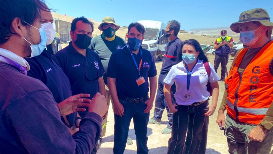 SNO en Fase de Movilización por menor extraviado en Valle de Azapa
