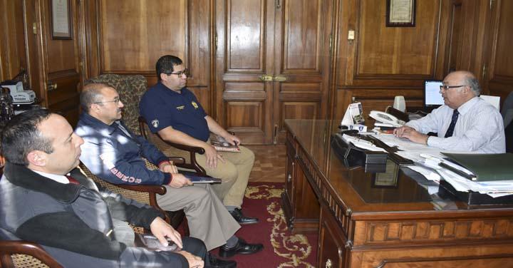 Cuerpo de Bomberos de Collipulli visitó al Presidente Nacional