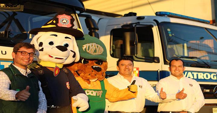 Constituyen Alianza para Combatir Incendios Forestales en la Región de Tarapacá