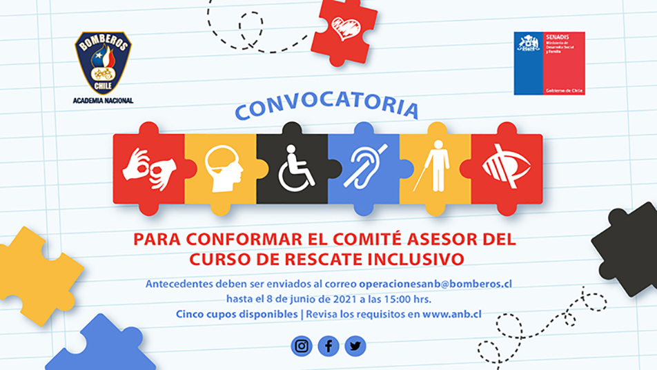 ANB lanzó convocatoria para conformar Comité Asesor del próximo curso de Rescate Inclusivo