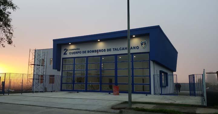 Lunes 25 de junio: transmisión online inauguración cuartel en Talcahuano