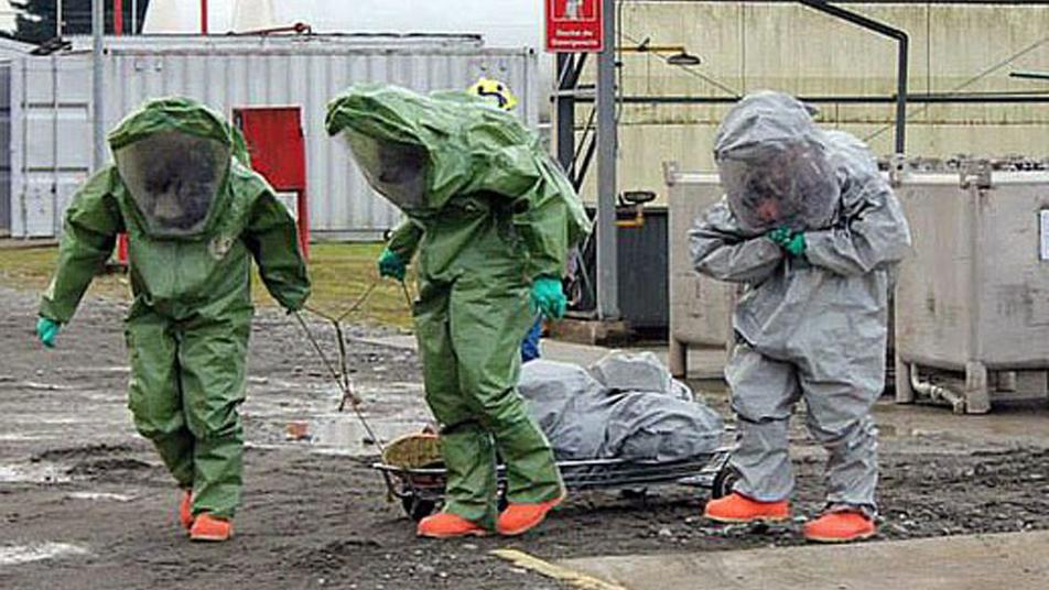 Aprobado primer convenio para apoyar de manera inicial a unidades HAZMAT en descontaminación en el marco de la emergencia sanitaria