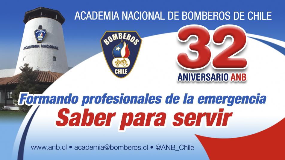 Aniversario N° 32 de la Academia Nacional de Bomberos de Chile