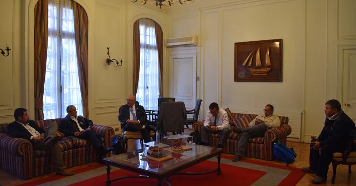 Cuerpo de Bomberos de Lota se reúne con Presidente Nacional