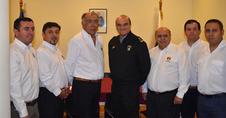 Presidente Nacional visitó lo que será la próxima sede del Consejo Regional Metropolitano