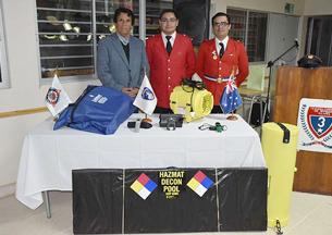 Tercera Compañía de Illapel recibió equipos para emergencias con Materiales Peligrosos