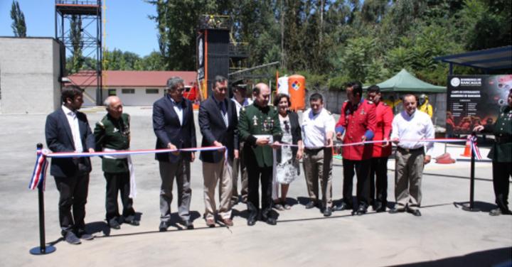 Bomberos de Rancagua inauguró Campo de Entrenamiento