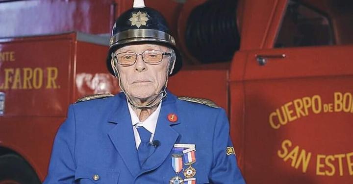Fallece Luis Reyes Vicencio Director Honorario de la Primera Compañía de San Esteban