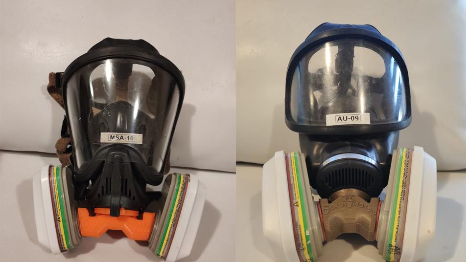 Innovación 3D permite a bomberos de Puerto Varas usar sus propias máscaras como protección ante emergencia por coronavirus