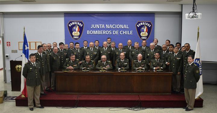 Autoridades bomberiles se reunieron para una nueva Asamblea Nacional