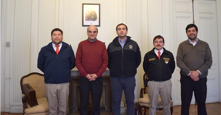 Presidente Nacional se reunió con Bomberos de Peñaflor