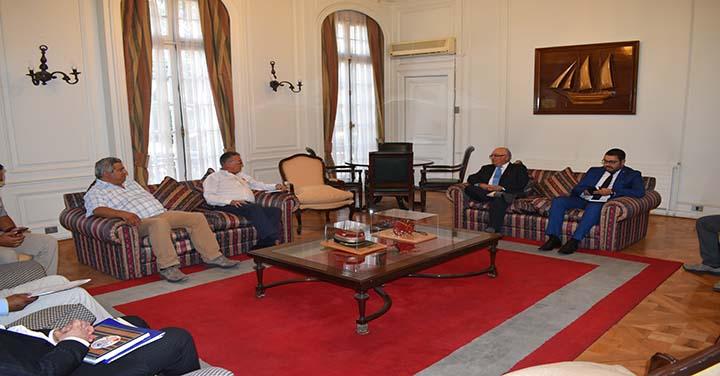 Presidente Nacional recibió a Bomberos de Concepción