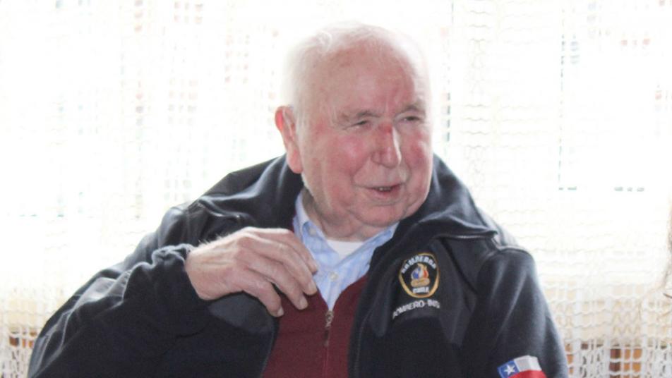 Falleció fundador de la Primera Compañía de Bomberos de Llanquihue