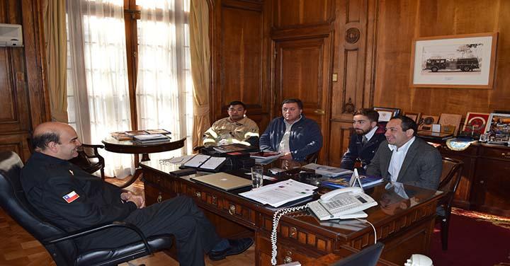 Presidente Nacional se reunió con los CB de Talagante, Valdivia, Puerto Montt, Olivar y Algarrobo