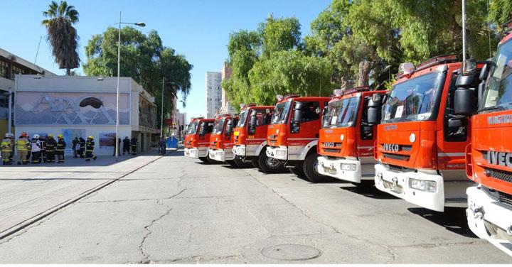 Nuevos Técnicos  Zonales de Bomberos de Chile