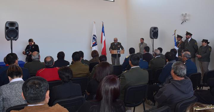 Cuerpo de Bomberos de Paredones inauguró nuevo cuartel en Bucalemu