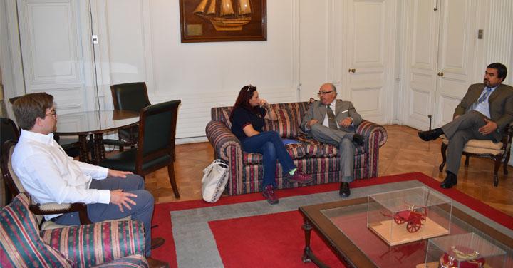Presidente Nacional se reunió con Cuerpo de Bomberos de Pitrufquén