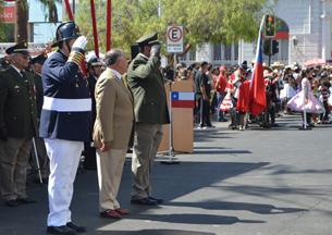 Con impecable desfile el Cuerpo de Bomberos de Antofagasta culminó semana de actividades por aniversario