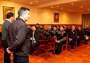 Colegio de Periodistas de La Araucanía capacitó a Bomberos de Temuco
