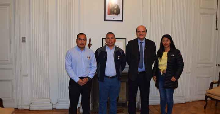Presidente Nacional recibió a Cuerpo de Bomberos de Punitaqui, La Unión, Ninhue y Calama