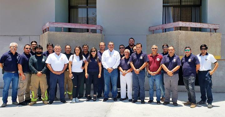 Primera jornada de Estrategia y Planificación 2019 del Cuerpo de Bomberos de Arica
