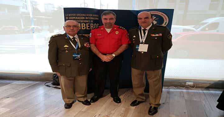 Presidente Nacional de Bomberos de Chile participó en la Asamblea Anual de OBA