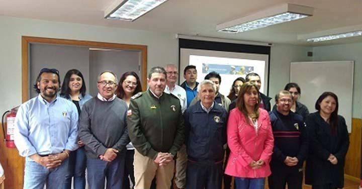 Exitosa capacitación a Cuerpos de Bomberos de Aysén