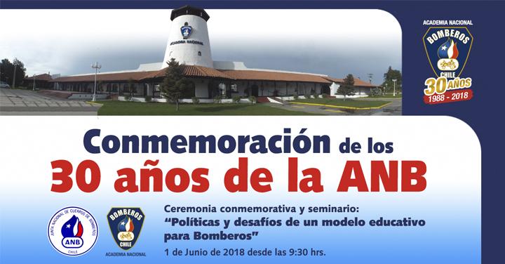 Transmisión online: conmemoración 30 años ANB