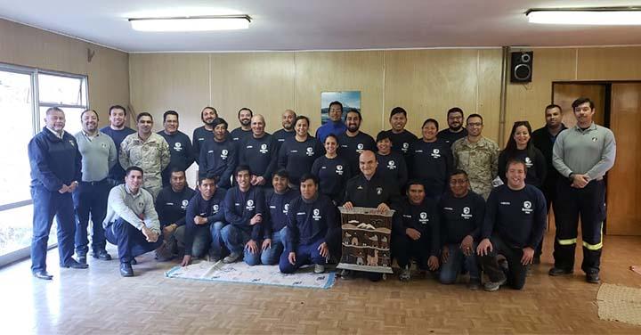 Presidente Nacional de Bomberos de Chile visitó la Región de Arica y Parinacota