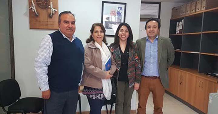 Bomberos de O´Higgins realizan reunión con funcionarios del Gobierno Regional