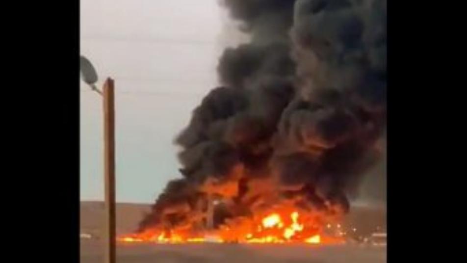 Incendio afectó a planta de yodo en Pozo Almonte