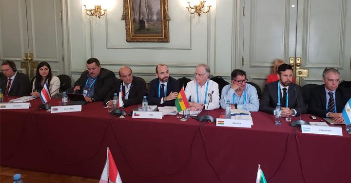Presidente Nacional de Bomberos de Chile asiste a reunión XVIII Reunión Anual Regional INSARAG en Argentina