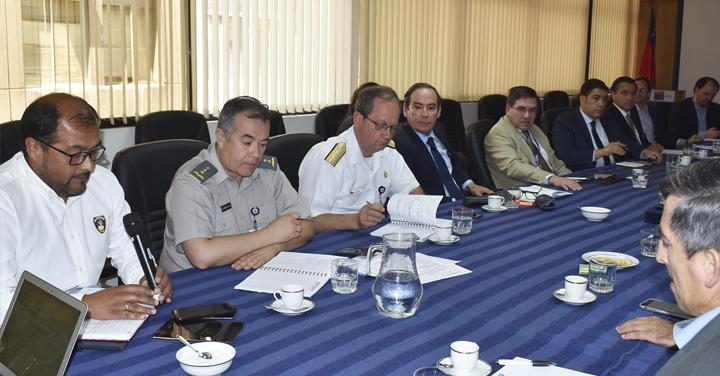 Bomberos asiste a reunión de coordinación para prevención de Incendios Forestales