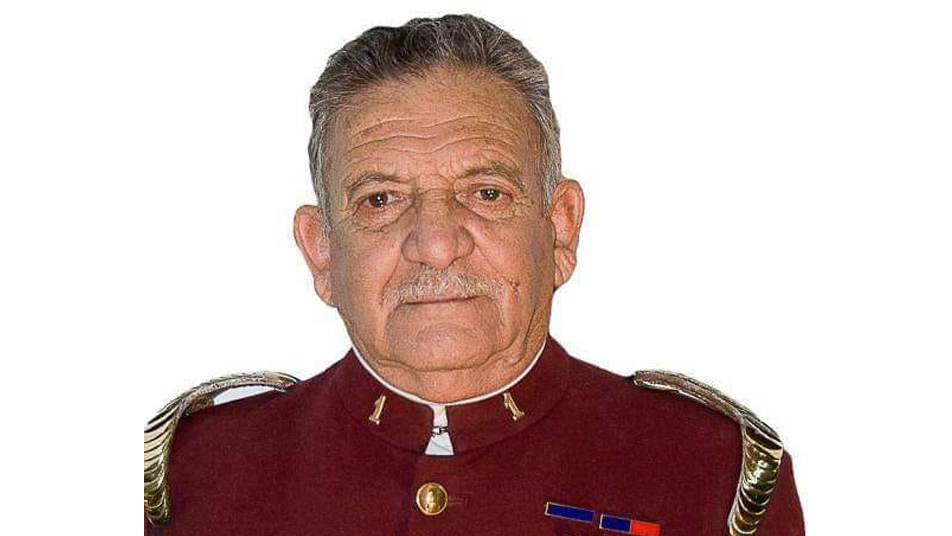 Pesar en Bomberos de San Bernardo por el fallecimiento de Bombero Insigne de Chile y Voluntario Emérito Luis Hormazábal Vargas (Q.E.P.D)