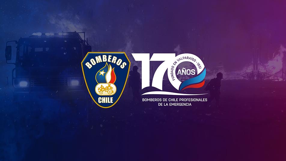 Saludos a Bomberos de Chile en su aniversario N° 170