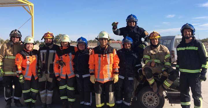 Con veinte nuevos rescatistas vehiculares cuenta Bomberos de Iquique