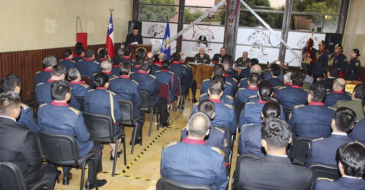 Quinta Compañía de Bomberos de Temuco cumplió 106 años