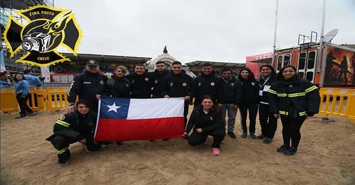 Bomberos de Chile presente en la Copa OBA-2018 en Argentina