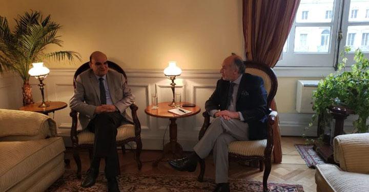 Presidente Nacional de Bomberos se reunió con Presidente de la Cámara de Diputados