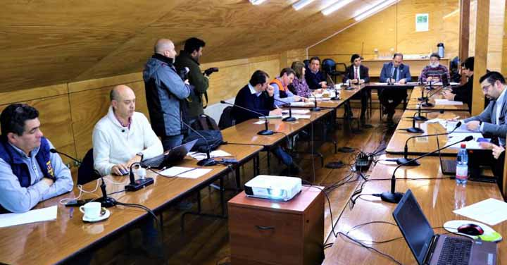 Constituyeron Mesa Regional de Bomberos de la Región de Los Ríos