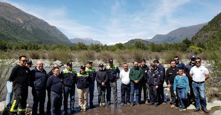 Presidente Nacional visitó zonas aledañas al volcán Nevados de Chillán