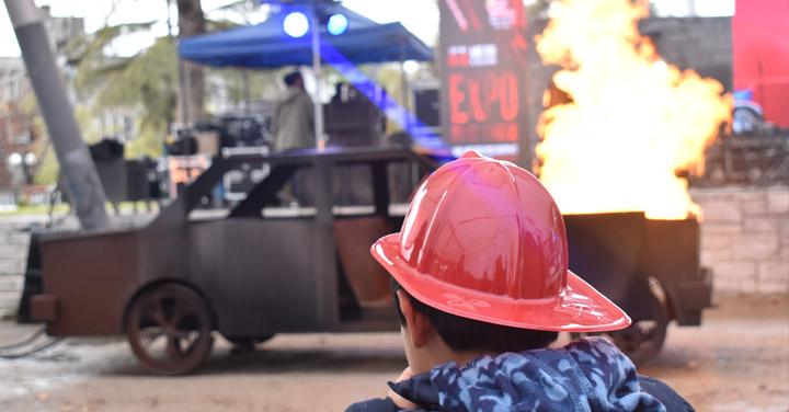 Casi 6 mil personas visitaron la Expo Día del Bombero 2019